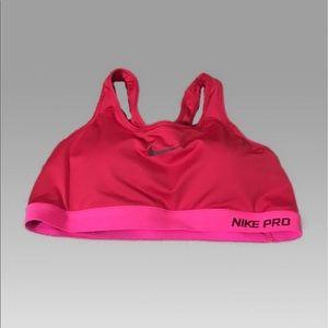Nike PRO/DRI-FIT Sports Bra Size Large